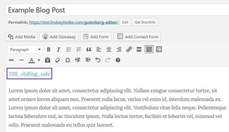 Upload HTML file in Classic Editor